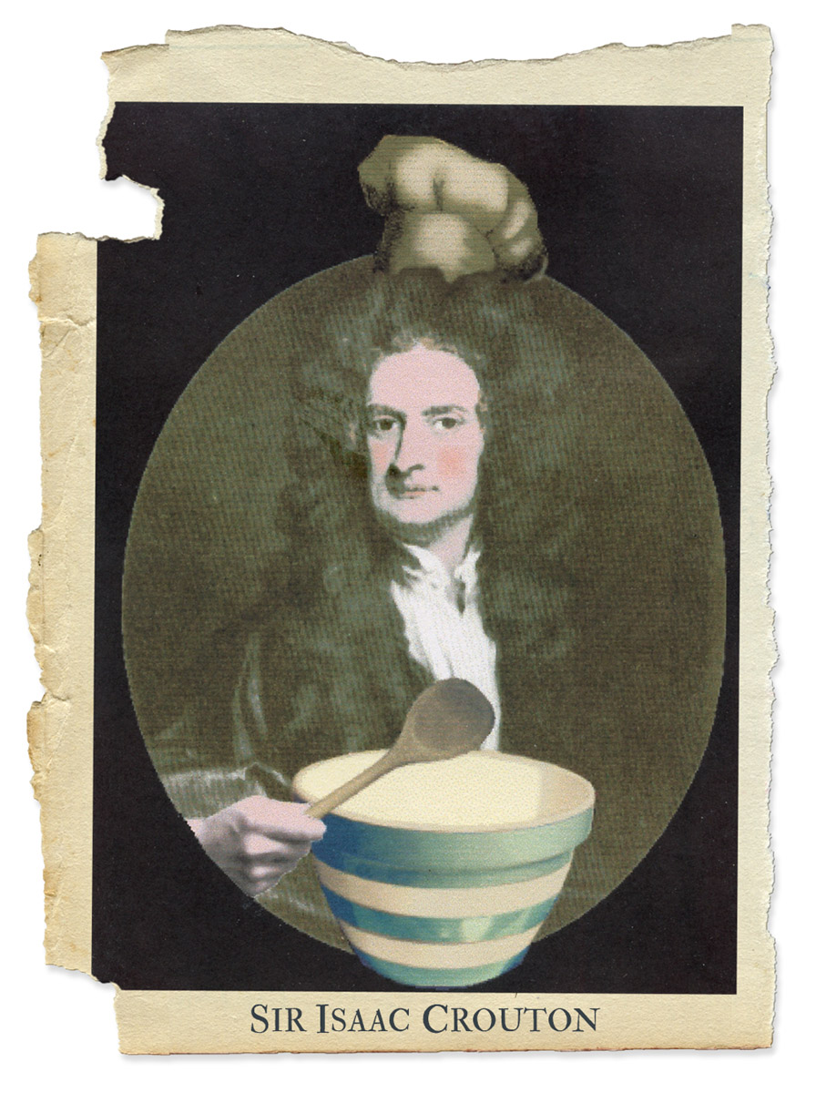 Isaac Crouton Portrait