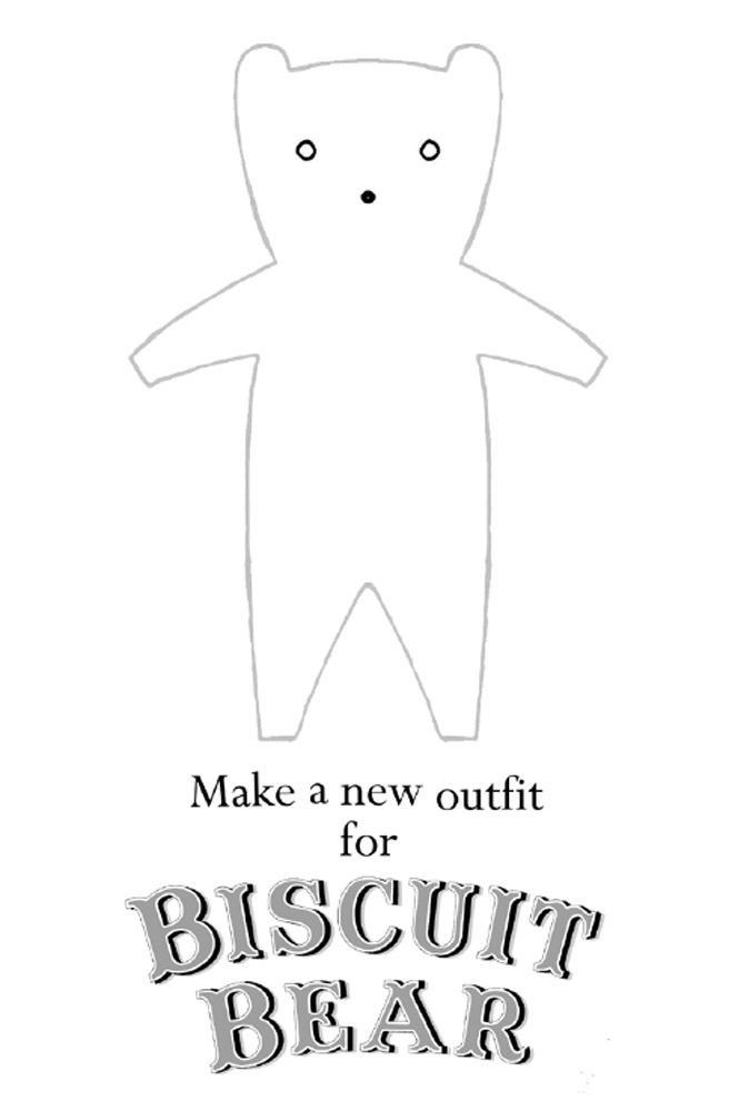 Biscuit Bear Outfit
