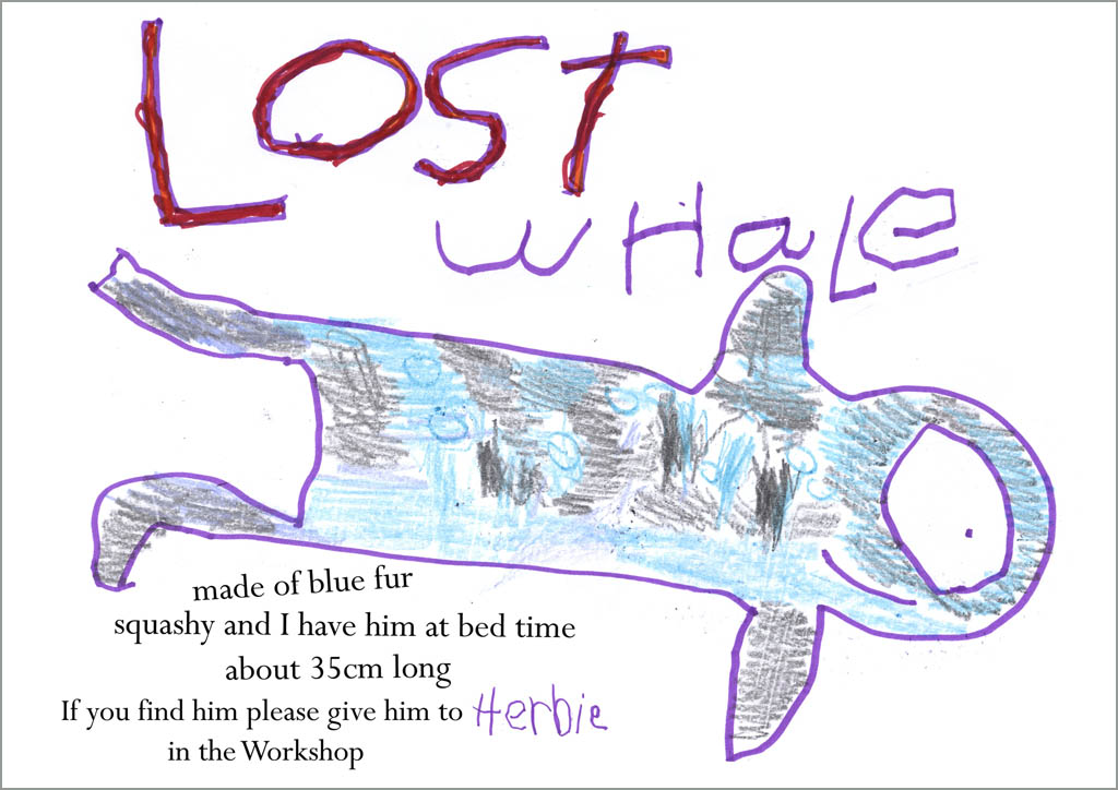 LOST WHALE small