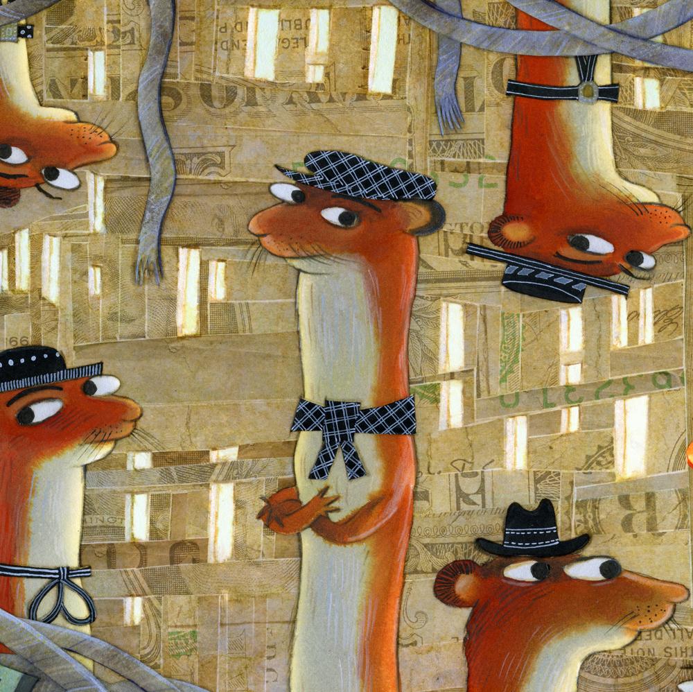 40 weasels