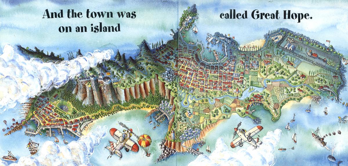 54 Tiny island