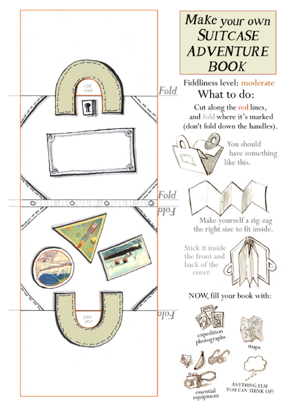 Suitcase Book