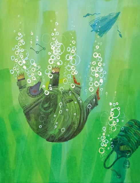 25 Roberts mole underwater